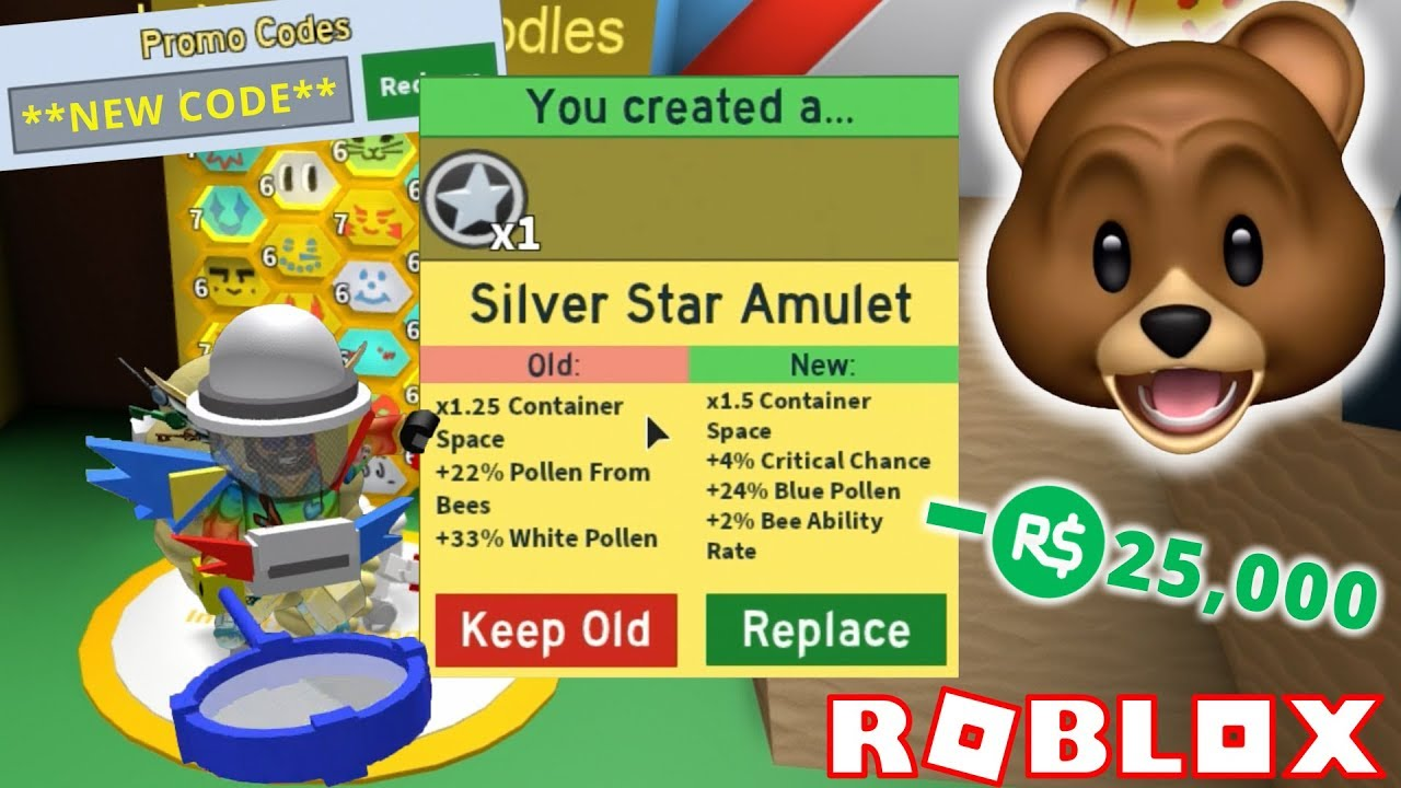 5 New Codes Silver Star Amulet Spending 25 000 Robux Roblox